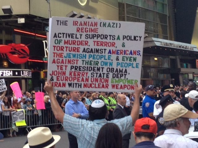 Stop Iran Rally (Breitbart News)