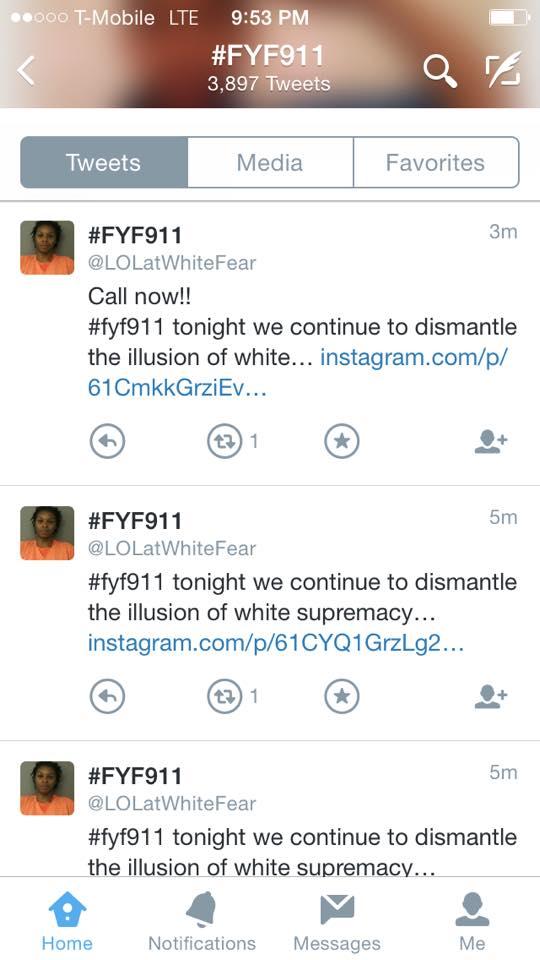 SNAPSHOT Twitter Radio Call Invite - #FYF911