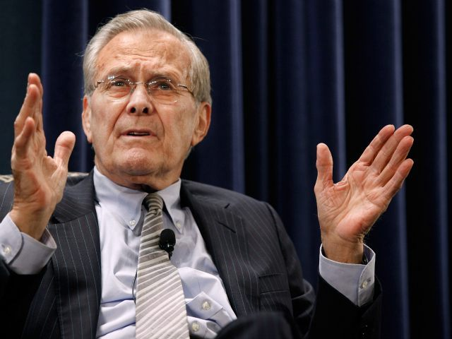, Pollak: Donald Rumsfeld Was 'Based' Before 'Based' Was a Thing, Nzuchi Times Breitbart