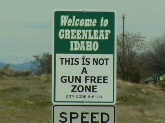 VIDEO: City Signs Warn Would-Be Criminals, 'This Is Not a Gun-Free Zone'
