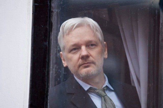 WikiLeaks founder Julian Assange has been holed up inside the Ecuadorian embassy in central London since June 2012