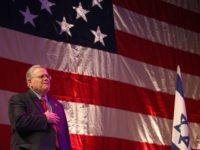 Christian Zionist John Hagee of CUFI (Gali Tibbon / AFP / Getty)