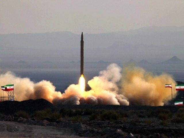 A picture taken on August 20, 2010 shows the test firing at an undisclosed location in Iran of a surface-to-surface Qiam missile, entirely designed and built domestically and powered by liquid fuel according to Defence Minister Ahmad Vahidi, a day before the Islamic republic was due to launch its Russian-built first nuclear power plant.