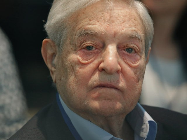 WASHINGTON, DC - APRIL 17:  Soros Fund Management Chairman George Soros attends a meeting with finance and development ministers, international partners and the presidents of Liberia, Sierra Leone and Guinea about the ongoing efforts to recover from the Ebola outbreak in West Africa during the World Bank- International Monetary Fund Spring Meetings April 17, 2015 in Washington, DC. The World Bank announced Friday that it would provide an additional US$650 million over the next year to help Guinea, Liberia and Sierra Leone to recover from the social, economic and health impact of the Ebola crisis.  (Photo by Chip Somodevilla/Getty Images)