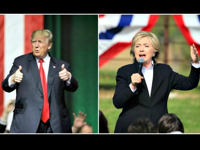 Trump the Populist, Hillary the Globalist AP Photos