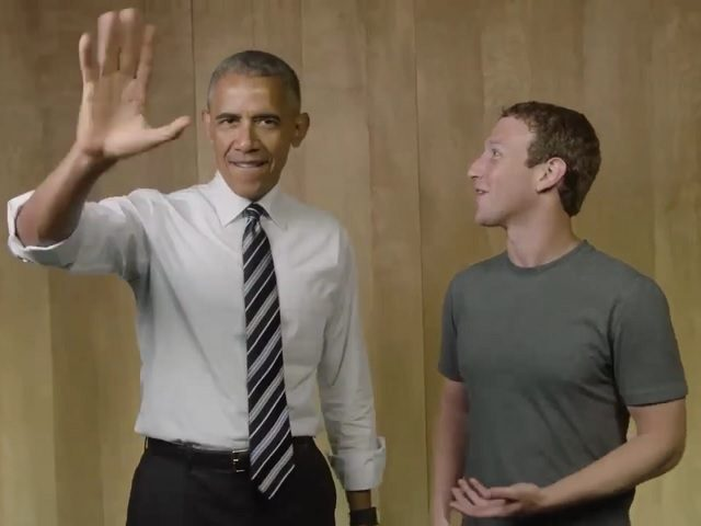Image result for Images of Obama and Mark Zuckerberg