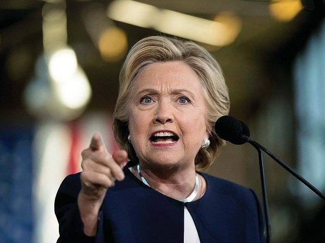 Democratic presidential candidate Hillary Clinton speaks at a rally at Eastern Market in Detroit, Friday, Nov. 4, 2016. (AP Photo/Andrew Harnik)
