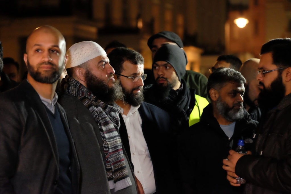 Hizb ut-tahrir protest London