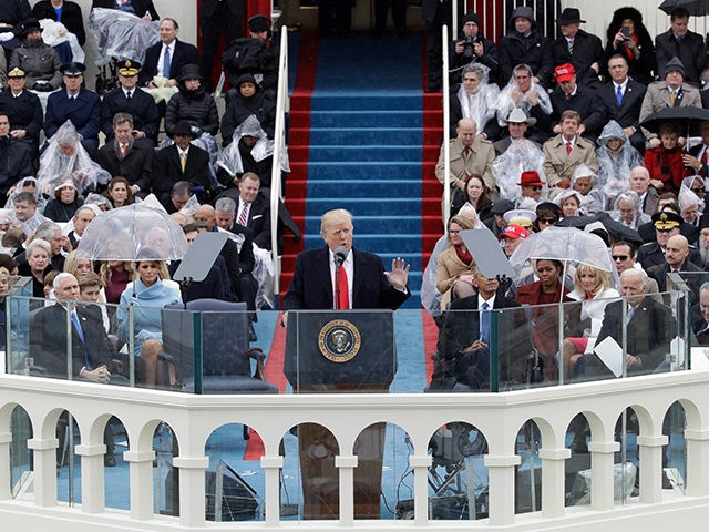 Image result for images of Trump inauguration on Jan. 20, 2017