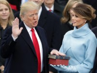 Donald-Trump-Melania-Trump-Oath-of-Office-Inauguration-1-20-17-Getty