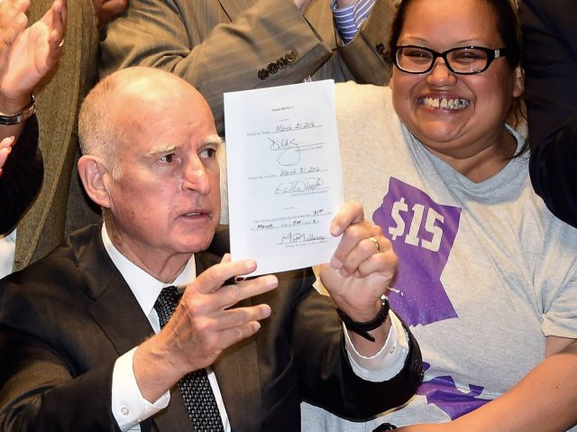 Jerry Brown: California Taxpayers are 'Freeloaders' - Breitbart