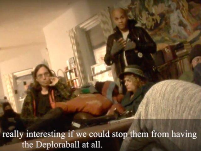 O'Keefe Deploraball video (Project Veritas / Screen Shot / YouTube)