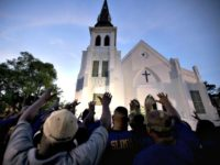 People Pray after Church Shooting