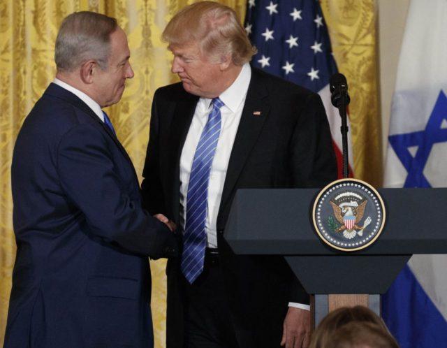 Netanyahu Trump (Evan Vucci / Associated Press)