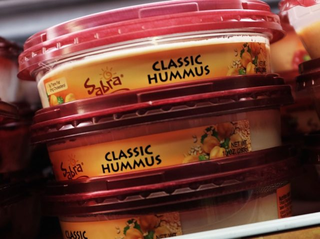 Sabra hummus (Spencer Platt / Getty)