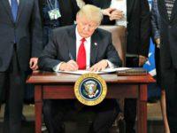 Trump Signs EO Pablo Martinez MonsivaisAP