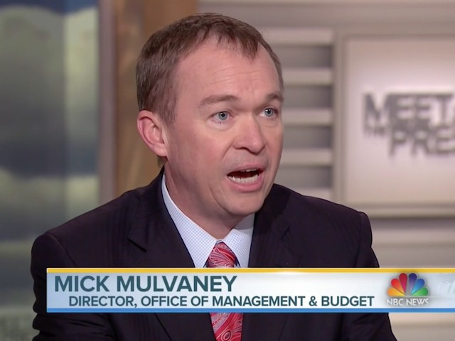 Image result for PHOTOS OF MULVANEY ON MEET THE PRESS