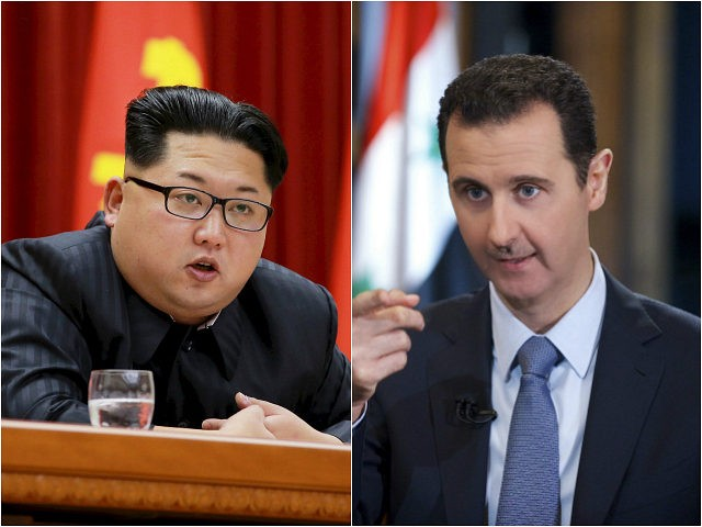 Image result for assad and kim jong un pictures