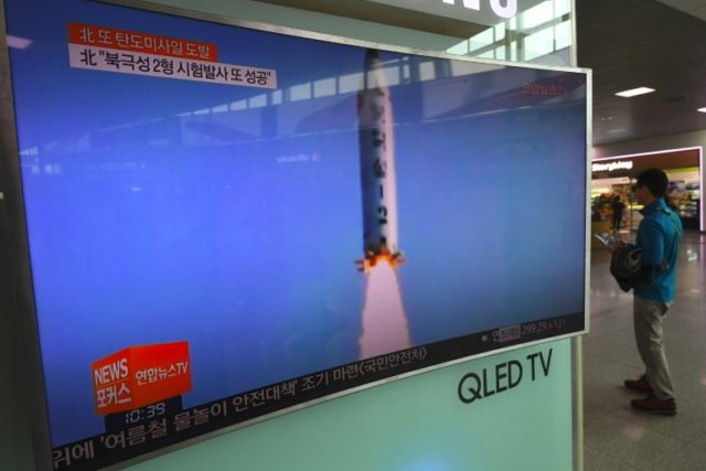 North Korea's missile program is aimed at developing an intercontinental missile capable of reaching the United States