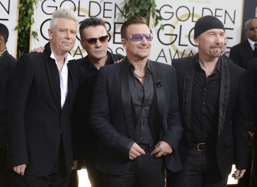 Adam Clayton, Larry Mullen, Jr., Bono, The Edge