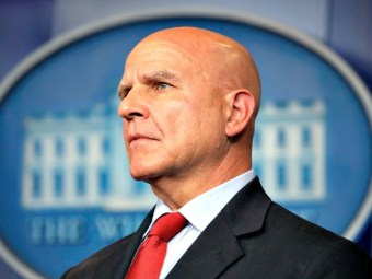 H.R. McMaster Gives Interview to Hugh Hewitt, Not Asked About Recent Purge
