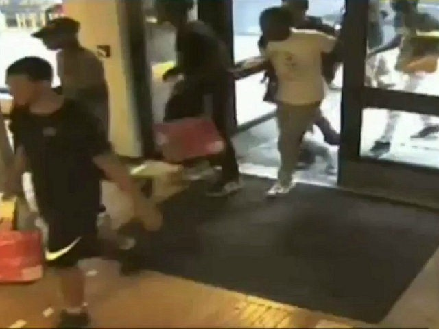 Police: Flash Mob of Thieves Steal Thousands of Dollars Worth of Goods from NYC Sneaker Stores