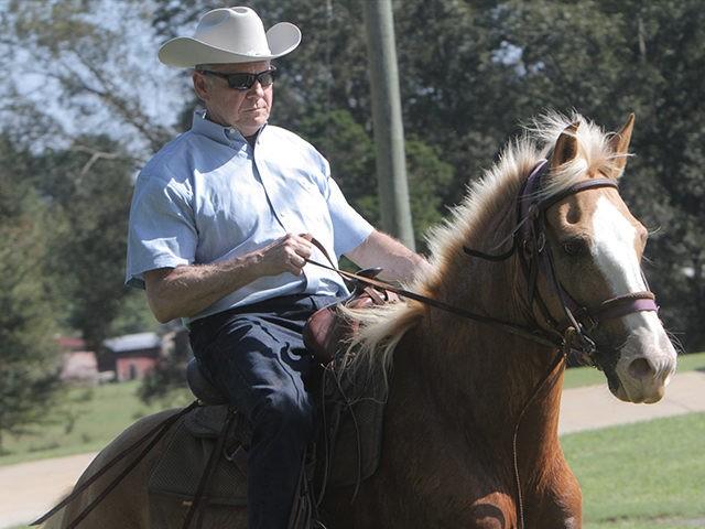 Image result for strange senate vote horseback