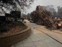 Napa wildfire (Justin Sullivan / Getty)