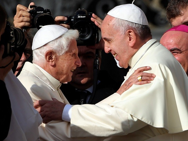 , Pope Francis Thanks Pope Benedict for his 'Credible Witness', Nzuchi Times Breitbart