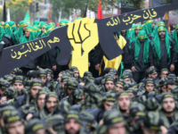 Arab diplomats have condemned Lebanese Shiite movement Hezbollah, whose members are seen here in October 2016 during Ashura commemorations in southern Beirut