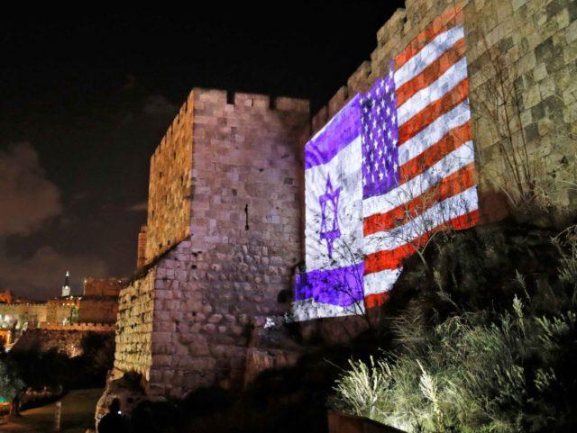 Jerusalem celebrates (Ahmad Gharabli / AFP / Getty)