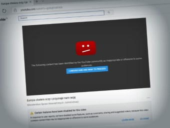 Goolag Archipelago: Google Sends Powerful Migrant Crisis Video by POLISH GOVERNMENT to 'YouTube Jail'