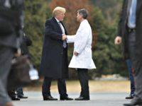 Trump and Dr. ronny-jackson