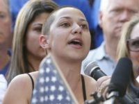 Emma Gonzalez (Rhona Wise / AFP / Getty)