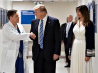 Trumps Visit Shooting Victims