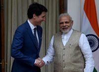 Prime Minister Narendra Modi (R) said he would not tolerate separatism, while Justin Trudeau has been at pains to quash perceptions in India that his Canada is a safe have for Sikh extremists