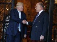Donald Trump and Ronald Lauder (Evan Vucci / Associated Press)