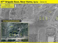 An Israeli satellite company on Monday revealed the damage caused to at least 13 buildings on an allegedly Iranian-controlled military base in northern Syria by an airstrike the previous day.