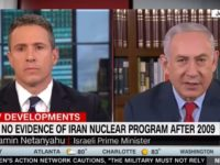 """TEL AVIV -- CNNs Chris Cuomo conducted a largely belligerent interview with Prime Minister Benjamin Netanyahu on his """"New Day"""" program on Tuesday in which the CNN host repeatedly interrupted and spoke over the Israeli leader, going so far as to confront Netanyahu about Israels suspected nuclear arsenal."""