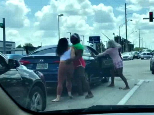 WATCH: Florida Road Rage Incident Becomes Four-Woman Street