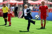 Russia's President Vladimir Putin has scored points by hosting the World Cup -- but analysts say the soft-power benefits may be limited