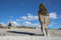 A small island in the Baltic Sea, Faro's coastline is strewn with distinctly-shaped limestone rocks