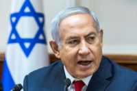 Benjamin Netanyahu is the first Israeli leader to visit Lithuania