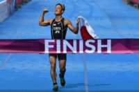 Jumpei Furuya's win Japan means have now completed their third straight triathlon double at the Asian Games