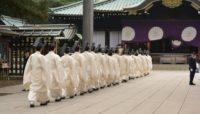 The Yasukuni shrine honours 2.5 million war dead but also enshrines top World War II criminals