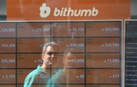 Bithumb is the biggest virtual currency exchange in South Korea, which has emerged as one of the world's top Bitcoin markets