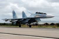 Russia first launched air strikes in support of the Syrian regime in September 2015