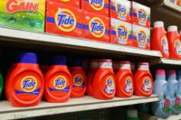Procter & Gamble saw a jump in profits in the most recent quarter, but is seeing rising costs and a hit from the stronger US dollar