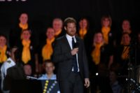 Prince Harry welcomed more than 500 competitors from 18 nations to the event in Sydney