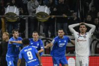Hoffenheim snatch thrilling draw at Lyon to stay afloat in Champions League
